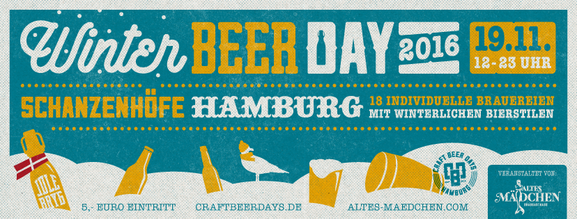 Winter Beer Day 2016 Hamburg