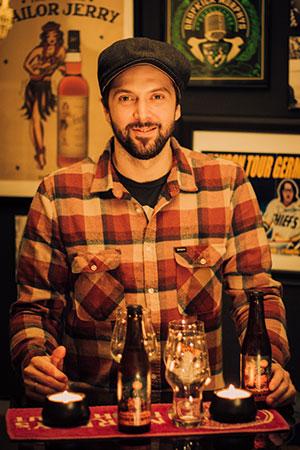 Diplom Biersommelier Oliver Schmökel. Craft Beer Tasting Hamburg