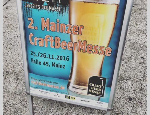 Die besten Biere der 2. Craftbeer Messe in Mainz